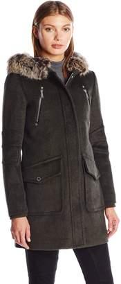 BCBGeneration Women's Wool Duffle Coat