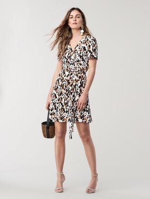 Diane von Furstenberg Savilla Mini Wrap Dress