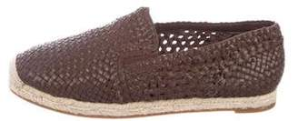 Michael Kors Woven Leather Espadrilles