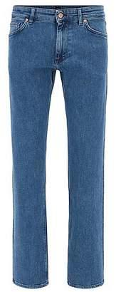 HUGO BOSS Regular-fit jeans in comfort-stretch denim
