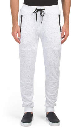 French Terry Tech Zipper Joggers