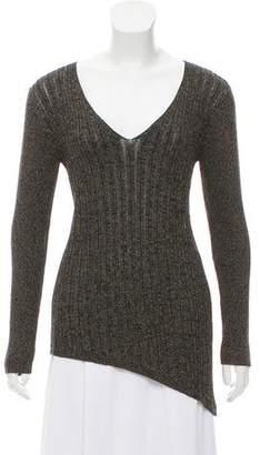 DKNY Knit V-Neck Sweater