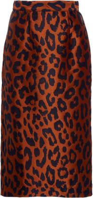 Alcoolique Araka Midi Tubolar Cheetah Skirt