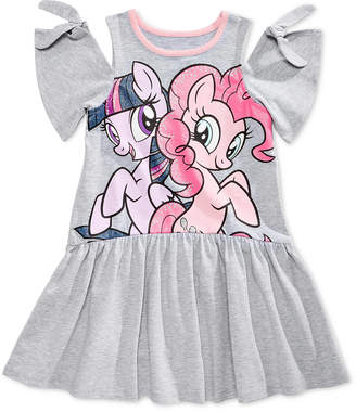 My Little Pony Cold-Shoulder Graphic-Print Dress, Little Girls