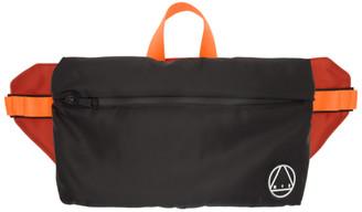 McQ Black Logo Waist Bag