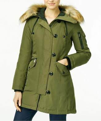 Michael Kors Michael Faux Fur-trimmed Hooded Parka