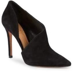Schutz Leevina Suede Cutout Stiletto Heels