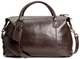 H&M Leather Weekend Bag - Brown