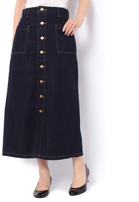 Moussy (マウジー) - マウジー BUTTON UP LONG SKIRT