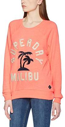 Superdry Women's G20002POF1 Sports Hoodie,44 (Manufacturer Size: )