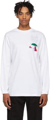 Carne Bollente White Fingers In The Rain Long Sleeve T-Shirt
