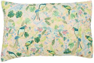 Kip&Co Birds of Paradise Quilted Cotton Pillowcase