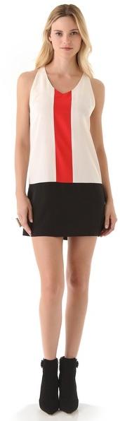 Madison Marcus Beacon Colorblock Dress
