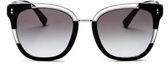 55544b6d92 ... Valentino Women s Oversized Square Sunglasses