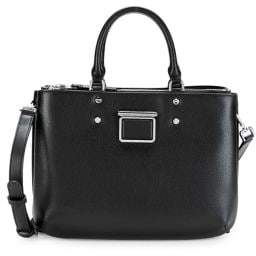 Calvin Klein Dani Leather Satchel