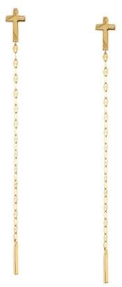 Women's Lana Jewelry Cross Duster Earrings $325 thestylecure.com
