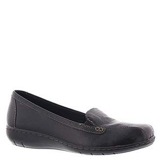 Clarks Bayou Slip-On Shoes Black