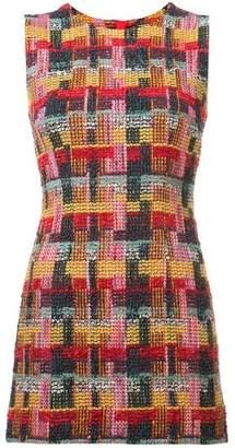 ADAM by Adam Lippes Tweed Fitted Mini Dress