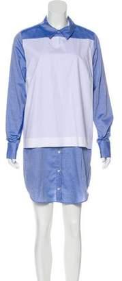 Thakoon Two-Tone Mini Dress w/ Tags