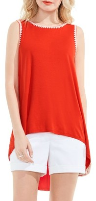 Women's Vince Camuto Embroidered High/low Top $79 thestylecure.com