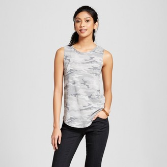 Grayson Threads Women's Camo Graphic Tank Gray - Grayson Threads (Juniors') $14.99 thestylecure.com