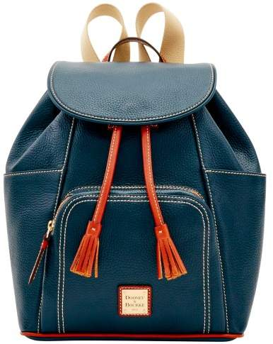 Dooney & Bourke Pebble Backpack - NAVY - STYLE