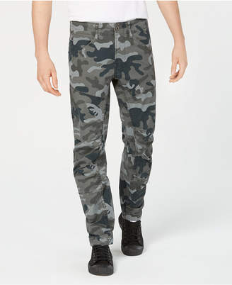 G Star Men Tapered Camo Pants