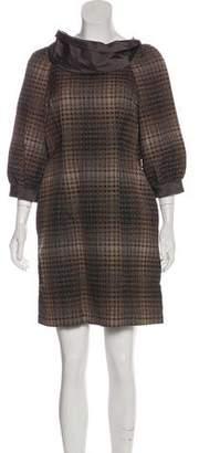 Thread Social Three-Quarter Sleeve Mini Dress