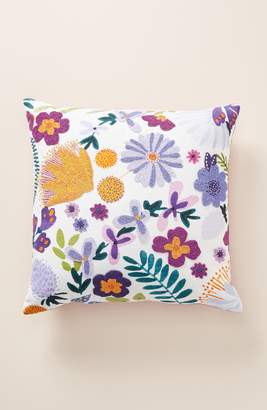 Anthropologie Ollie Beaded Accent Pillow
