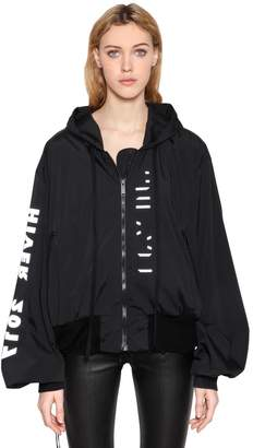 Unravel That's My People Hooded Nylon Jacket