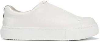 Eytys White Doja Leather Sneakers