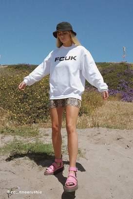 French Connection UO Exclusive Classic Crew Neck Sweatshirt