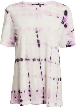 Proenza Schouler Lavender Tie-Dye Tissue T-Shirt