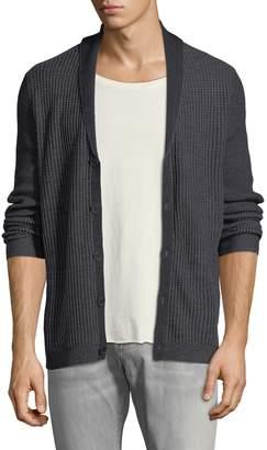 John Varvatos Men's Wool-Blend Cardigan