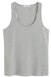 MANGO Essential cotton top