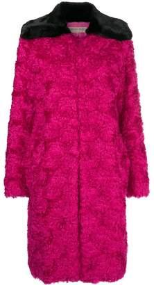 Emilio Pucci contrast oversized coat