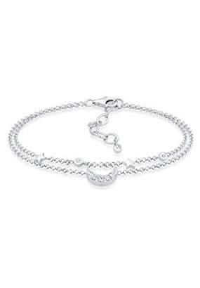 04995f948 at Amazon.co.uk · Elli Women's 925 Sterling Silver Link Bracelet  0210422317_16 - 16cm length