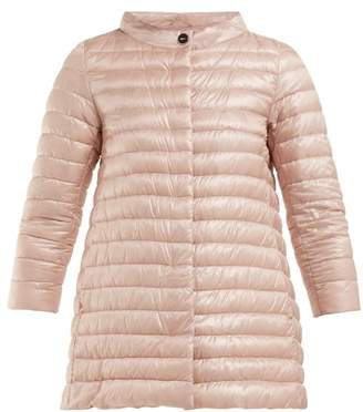 Herno Rosella Quilted Down Jacket - Womens - Light Pink