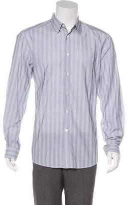Versace Striped Woven Shirt