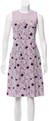 Bottega Veneta Printed Sleeveless Dress