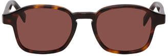 Super Tortoiseshell and Brown Sol Sunglasses