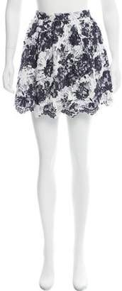 Thakoon Lace-Accented Mini Skirt w/ Tags