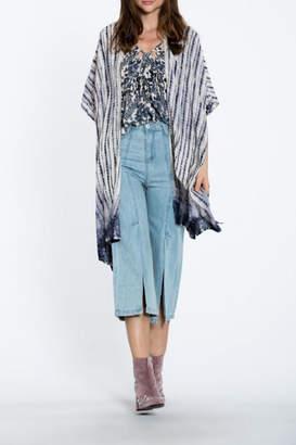 En Creme Tie Dye Kimono