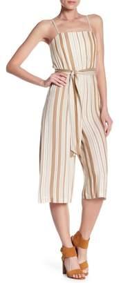 Alice + Olivia Luci Spaghetti Strap Stripe Jumpsuit