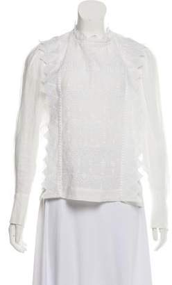 Isabel Marant Eyelet Embroidered Blouse w/ Tags