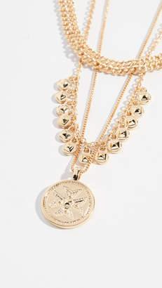 Luv Aj The Noa Coin Charm Necklace