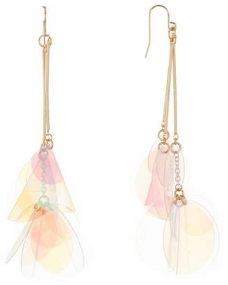 Natasha Accessories Opalescent Tassel Earrings