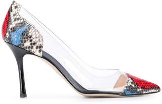 clear Marc Ellis side-panel pumps