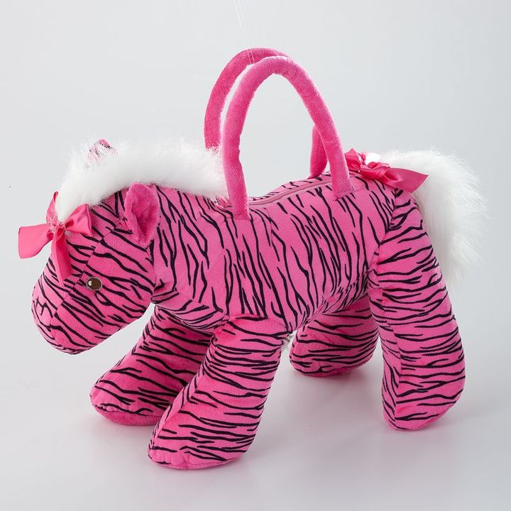 Toby olly and friends zebra horse bag