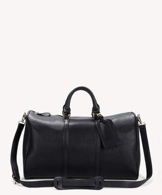 Sole Society Women's Cassidy Weekender Vegan Leather In Color: Black Bag From